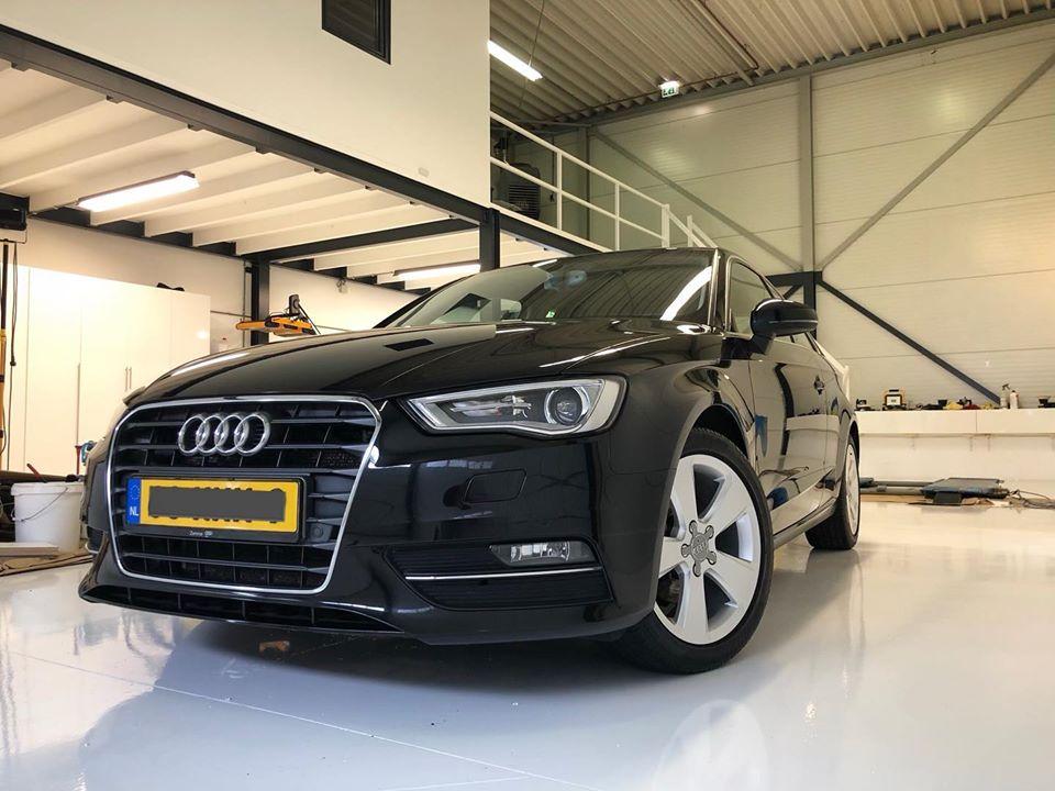 Audi Van IJzendoorn Car detailing