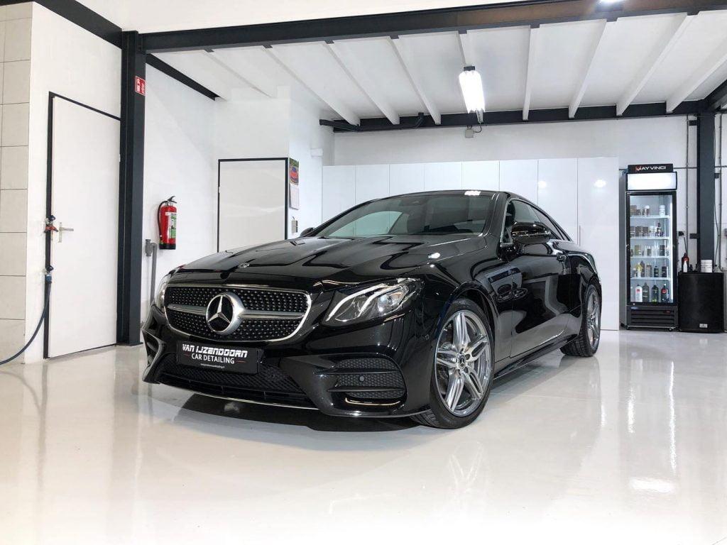 glascoating Mercedes e-klasse coupe