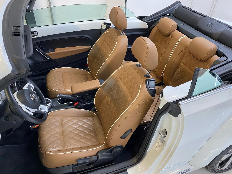VW Beetle en interieurbehandeling